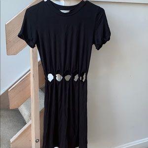 Black cutout dress!